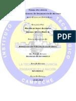 Evaluación General de Organización de Archivos Ingrid