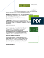 Acciones Tecnicas y Tacticas Del Futbol