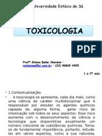 Introdução à Toxicologia