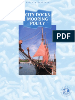 Bristol Docks Mooring Policy Jan 2008