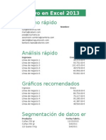 Lo Nuevo en Excel 2013