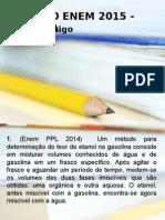 REVISÃO QUIMICA 2015 ENEM AULÃO.ppt