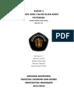 Kasus 1 Kelompok Praktikum Audit