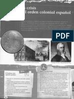 Unidad 3 - La Crisis Del Orden Colonial Español
