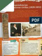 Unidad 6 - Independencias y Guerras Civiles (1820-1852)