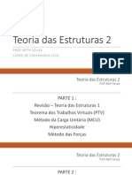 Teoria Das Estruturas 2 - Aula 1