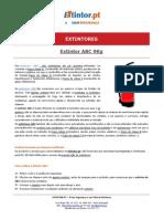 Ficha Tecnica - Extintor ABC 9kg