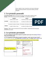 5- Les Pronoms