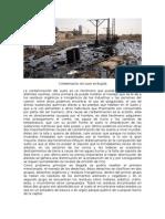 Contaminación Del Suelo en Bogotá