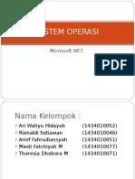 Sistem Operasi .Net Framework