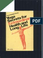 248139008 Yoga Secrets for Extraordinary Health and Long Life(1)