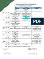 Jadwal Kuliah Gasal Mi 2015-2016