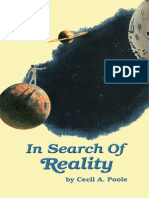 In Search of Reality - Cecil a. Poole
