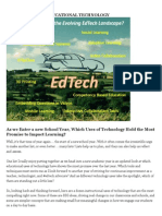 article in educational technology