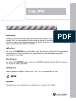 Anexo 01 - Tabla de Conductores Electricos - Tipo ACAR