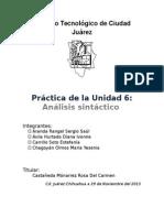 Analisis Sintactico(Practica)