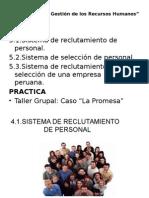 Sesion 5 Reclutamiento y Selleccion de Personal