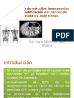 Utilización de Estudios Innecesarios en La Estadificación Del CA de prostata