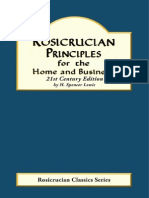 Rosicrucian Principles for the Home and Business - H. Spencer Lewis