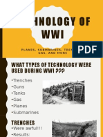 technology of wwi