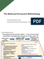 The Methodology of BSC