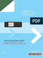 Motorola TETRA MTM800 Installation Manual