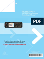 Motorola TETRA MTM800 Installation Manual