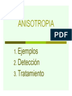 Anisotropia
