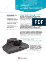 Videoconferencing Polycom Viewstation Sp 128 Data Sheet
