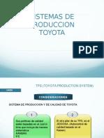 SISTEMA DE PRODUCCION TOYOTA!!