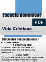 Escuela Dominical - Vida Cristiana