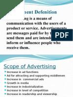 Advertisment Concept