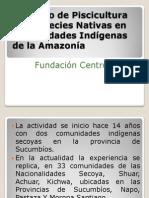 18 BioCAN Taller Distribución de Beneficios - Proy Peces Centro Lianas Ecuador