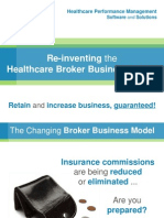 Re-Inventing the Healthcare Broker Business Model