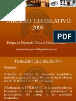 Tablero Legislativo VMG