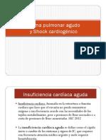 Edema Pulmonar Agudo (EPA) y Shock Cardiogenico