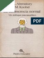 Aberastury, A. & Khobel, M. (1989). La Adolescencia Normal - Un enfoque psicoanalítico. Ed. Paidós.pdf