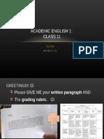 class 11 ae1 website