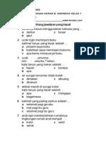 SOAL UH B INDONESIA KELAS 2 BAB 3 SEMESTER 1.pdf