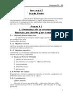 Practicas Nº 2 Ley de Hooke