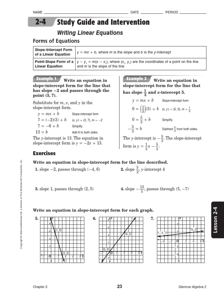 Study guide equations geometry falaconquin