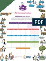 Planeador Maratones de Lectura