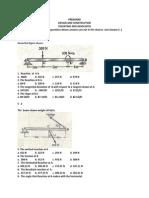 Tolentino and Associates Sample Construction and Design Preboard Exam