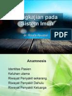 Pengkajian Sistem Imun