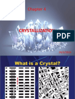 Chapter 4 Crystallization