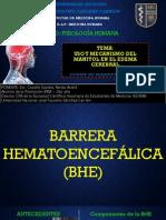 Uso y Mecanismo Del Manitol en El Edema Cerebral