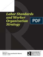 Labor Standards and Worker Organization Strategy