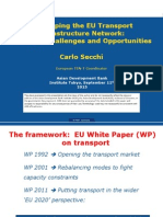 Developing the EU Transport Infrastructure Network