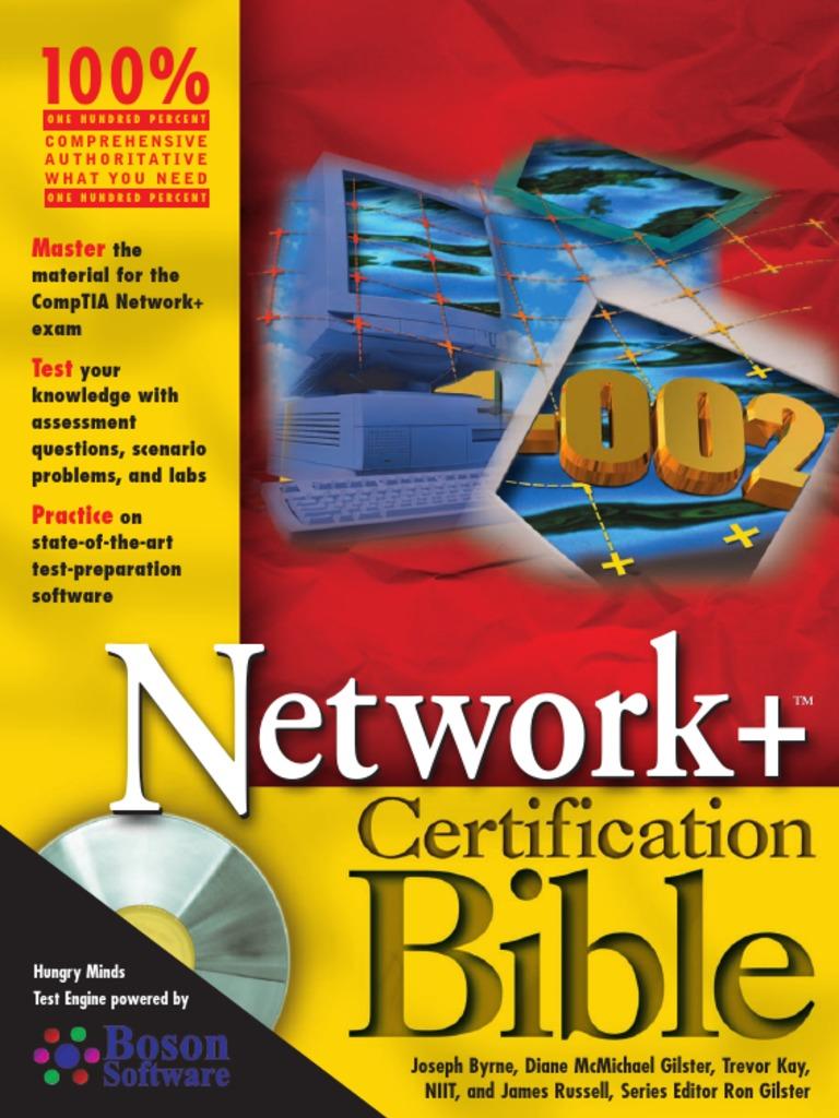 certification network osi tia comp