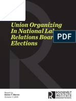 Union Organizing in National Labor Relations Board Elections